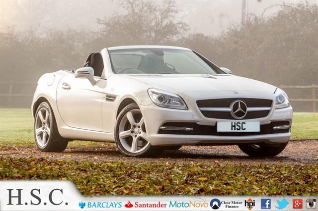 used Mercedes SLK SLK250 CDI BLUEEFFICIENCY in chelmsford-essex