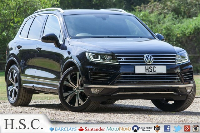 used VW Touareg V6 R-LINE TDI BLUEMOTION TECHNOLOGY in chelmsford-essex