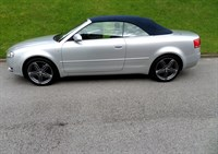 Used Audi A4 1.8 T  CABRIOLET S LINE ALLOYS RETIRED OWNER F.S.H IMMACULATE