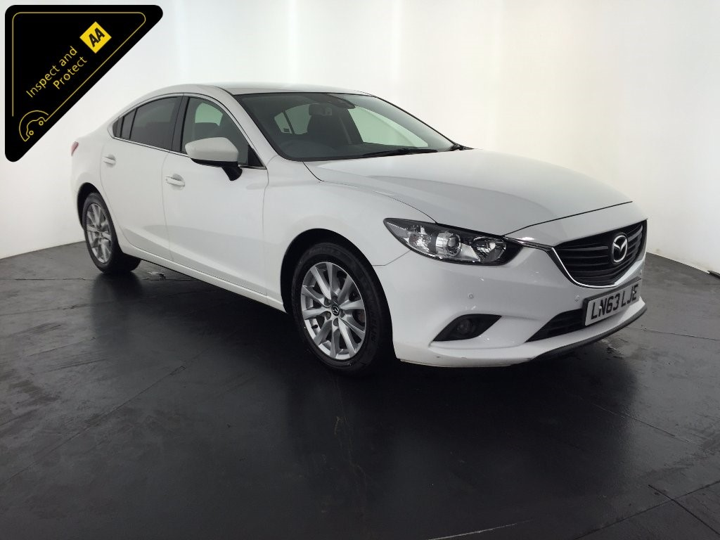 used white mazda mazda6 for sale leicestershire. Black Bedroom Furniture Sets. Home Design Ideas