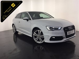 used Audi A3 TDI S Line Tronic 3dr in leicester