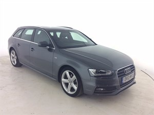 used Audi A4 Avant TDI S Line 5dr in leicester