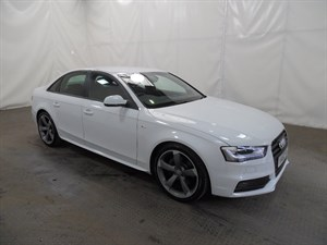 used Audi A4 TDI S Line Multitronic 4dr in leicester