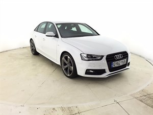 used Audi A4 TDI Black Edition 4dr in leicester