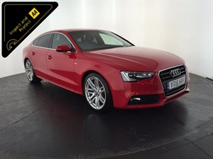 used Audi A5 TDI S Line Sportback 5dr in leicester