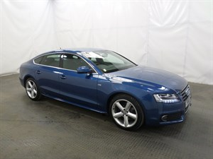 used Audi A5 TDI 143 S Line 5dr 1 OWNER 54 MPG TAX £130 in leicester