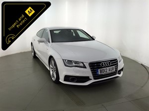 used Audi A7 TDI S Line Sportback Multitronic 5dr in leicester