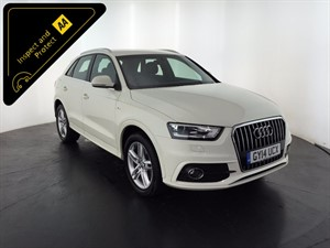 used Audi Q3 TDI SE 5dr in leicester