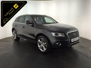 used Audi Q5 TDI S Line Plus Tronic Quattro 5dr (start/stop) in leicester