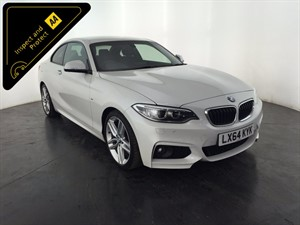 used BMW 220i 2 Series M Sport 2dr (start/stop) in leicester