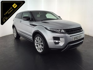 used Land Rover Range Rover Evoque SD4 Dynamic LUX 4x4 3dr in leicester