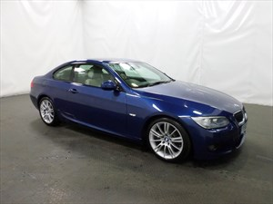 used BMW 325d 3 SERIES M Sport 2dr FULL HISTORY XENON LEATHER in leicester