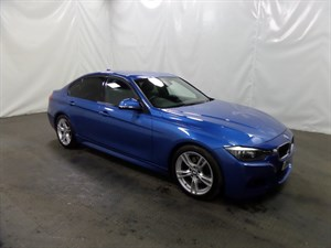 used BMW 330d 3 SERIES TD (s/s) M Sport 4dr Auto in leicester