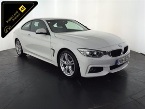 used BMW 420d 4 Series M Sport 2dr in leicester