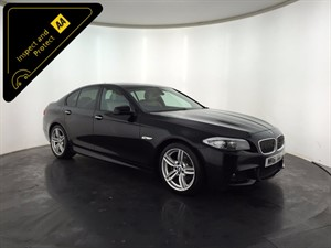 used BMW 520d 5 Series M Sport 4dr in leicester