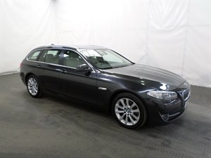 used BMW 520d 5 SERIES SE 5dr Step Auto FULL BMW SERVICE HISTORY in leicester