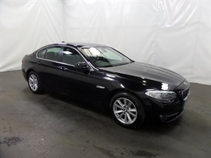 used BMW 520d 5 SERIES SE 4dr Step Auto FULL SERVICE HISTORY 1 OWNER in leicester