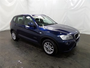 used BMW X3 TD xDrive20d SE 5dr 4WD in leicester