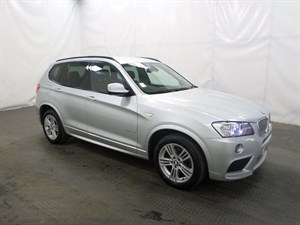 used BMW X3 xDrive30d M Sport 5dr Step Auto in leicester