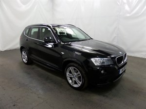 used BMW X3 xDrive20d M Sport 5dr in leicester