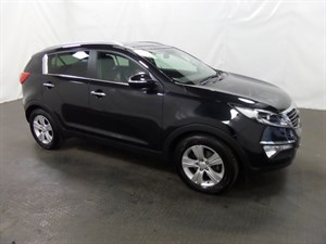 used Kia Sportage CRDi 2 5dr FULL SERVICE HISTORY 1 OWNER in leicester
