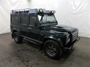 used Land Rover Defender 110 D XS 5dr TWISTED PACK HUGE SPEC in leicester