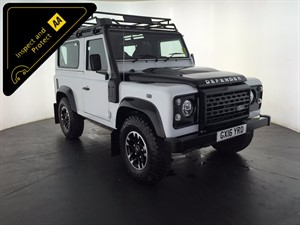 used Land Rover Defender 90 TD Adventure Edition Station Wagon 3dr in leicester