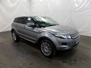 used Land Rover Range Rover Evoque SD4 Prestige LUX 5dr 4WD in leicester