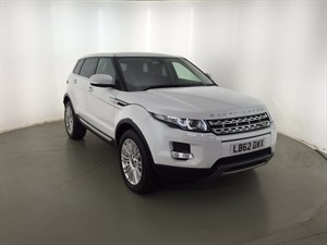 used Land Rover Range Rover Evoque eD4 Prestige 5dr in leicester