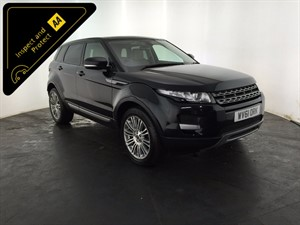used Land Rover Range Rover Evoque SD4 Pure 4x4 5dr in leicester