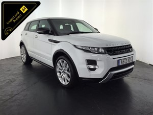used Land Rover Range Rover Evoque SD4 Dynamic LUX 4x4 5dr in leicester