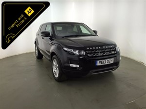 used Land Rover Range Rover Evoque SD4 Pure Tech 4WD 5dr in leicester