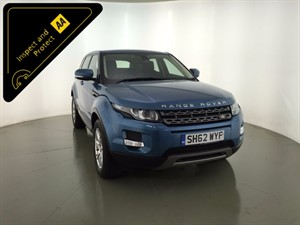 used Land Rover Range Rover Evoque SD4 Pure Tech 5dr in leicester