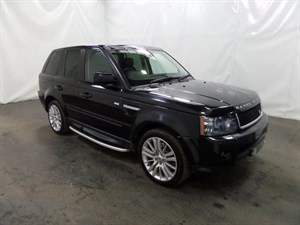 used Land Rover Range Rover Sport TD HSE 5dr 4WD LAND ROVER HISTORY LOW MILEAGE in leicester
