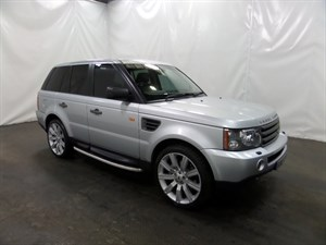 used Land Rover Range Rover Sport TD HSE 5dr 4WD SERVICE HISTORY FULL LEATHER in leicester