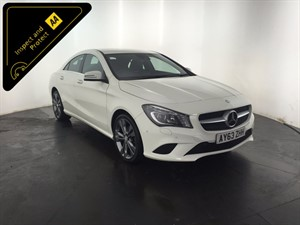 used Mercedes CLA200 CDI CLA Class Sport 7G-DCT 4dr in leicester