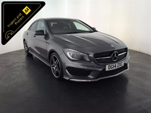 used Mercedes CLA200 CDI CLA Class AMG Sport 7G-DCT 4dr in leicester