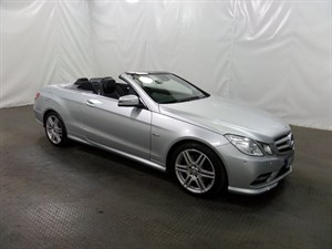 used Mercedes E220 E CLASS TD BlueEFFICIENCY CDI Sport 2dr 7G-Tronic Plus in leicester
