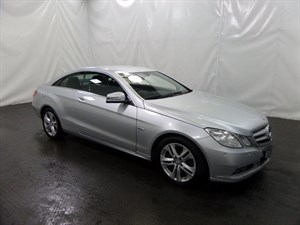 used Mercedes E220 E CLASS CDI BlueEFFICIENCY (s/s) SE Edition 125 2dr in leicester