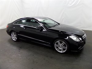 used Mercedes E250 E CLASS TD BlueEFFICIENCY CDI Sport 2dr in leicester