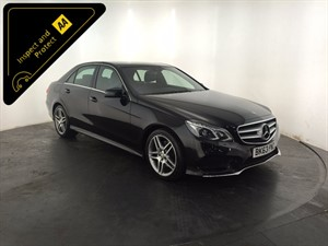 used Mercedes E300 E Class CDI BlueTEC AMG Sport 7G-Tronic Plus 4dr in leicester