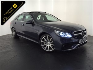 used Mercedes E63 AMG E Class MCT 4dr in leicester