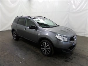 used Nissan Qashqai+2 dCi 360 5dr (start/stop) in leicester