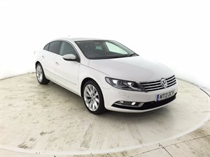 used VW CC TDI BlueMotion Tech GT 4dr in leicester