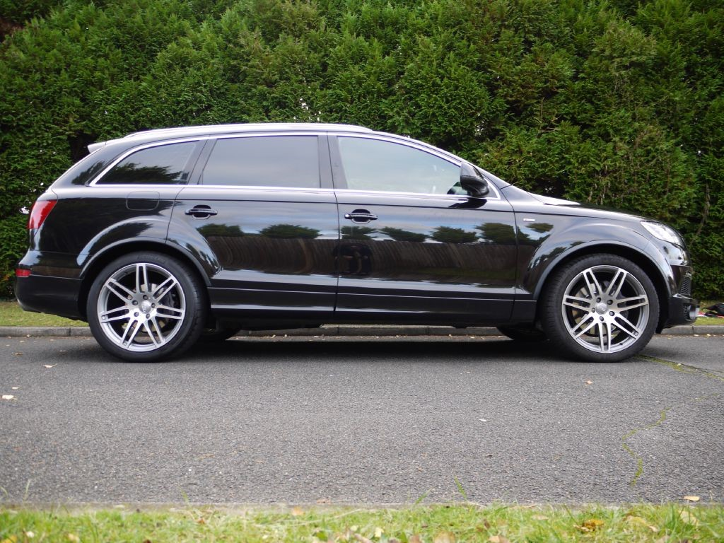 used audi q7 for sale in surrey. Black Bedroom Furniture Sets. Home Design Ideas