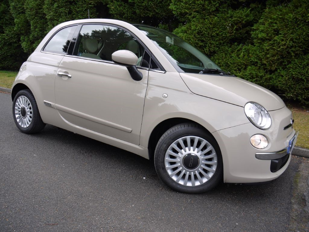 Used New Age Cream Fiat 500 For Sale Surrey