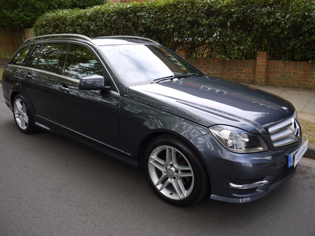 used tenorite grey metallic mercedes c220 for sale surrey. Black Bedroom Furniture Sets. Home Design Ideas
