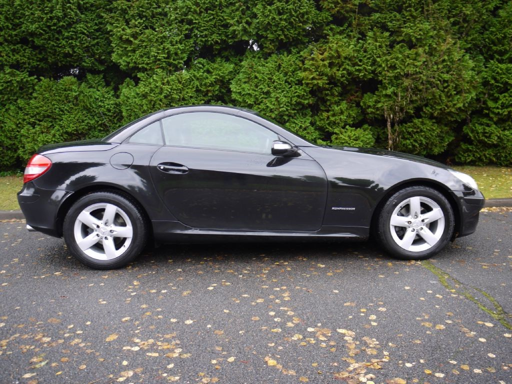 used mercedes slk for sale in surrey. Black Bedroom Furniture Sets. Home Design Ideas
