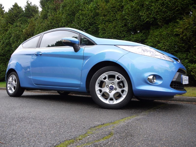 Used Vision Blue Metallic Ford Fiesta for Sale | Surrey