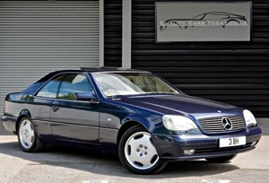 Mercedes-Benz CL600 60 V12 Coupe